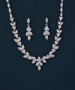 parure bijoux mariage zircon