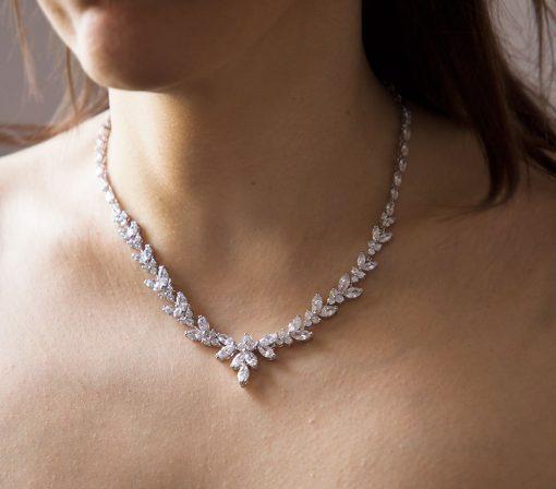 parure bijoux mariage zircon 3
