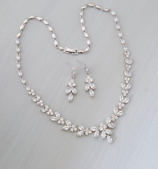 parure bijoux mariage zircon 4