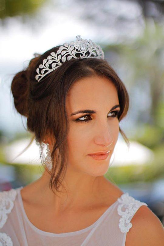 Diadème mariage Darcy, bijoux de coiffure