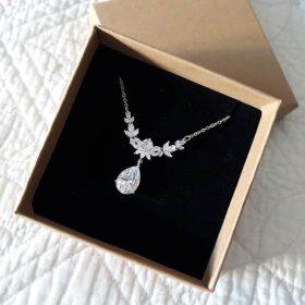 Parure bijoux mariage Andrea