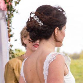 Peigne coiffure mariage cristal 3