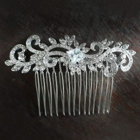 Peigne coiffure mariage cristal