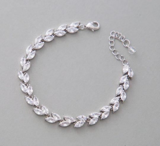 bracelet mariage cristal Zircon