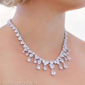 collier mariée de luxe