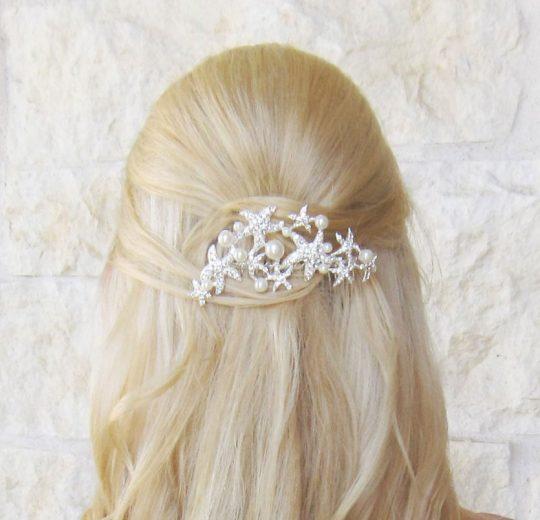 bijoux de cheveux étoiles