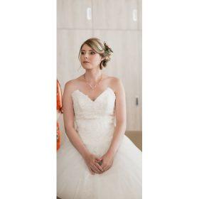 Collier mariage rose gold Aurora Secrets