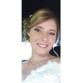 Collier mariage Zircon rose gold Aurora Secrets