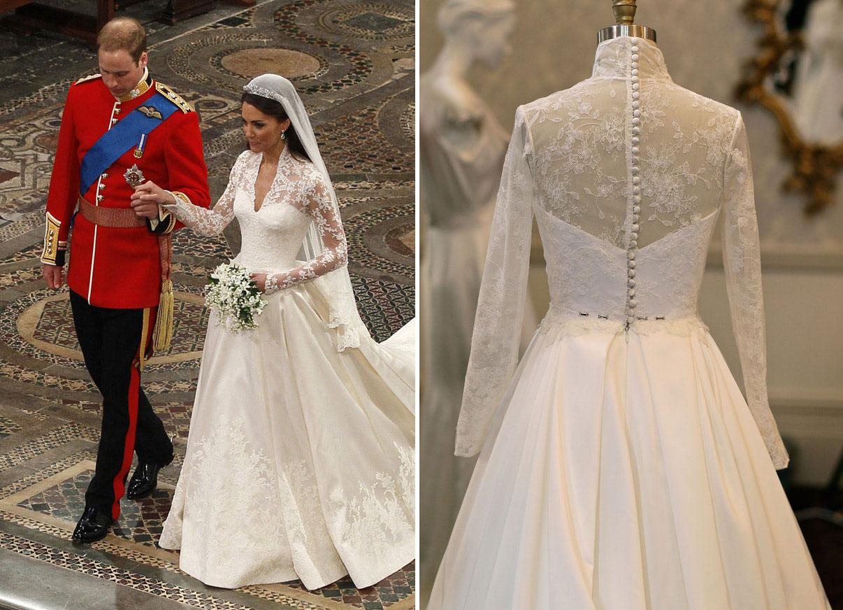 Les bijoux de mariage de Kate Middleton -