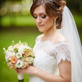 Accessoire de coiffure mariage, diadème princesse Dora