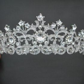 Diadème de mariée cristal Swarovski 3