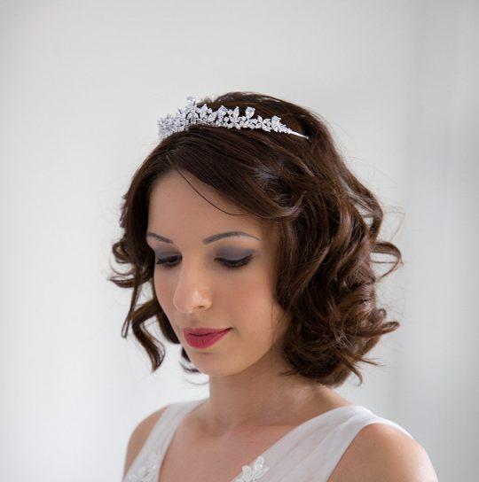Diadème pour mariée diamanté