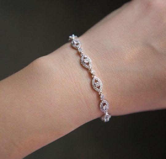 Bracelet fin mariage