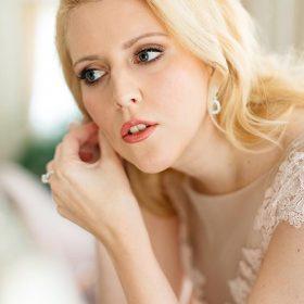 Diadème mariage princesse cristal, accessoire de cheveux de luxe