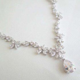 Parure bijoux mariée collier