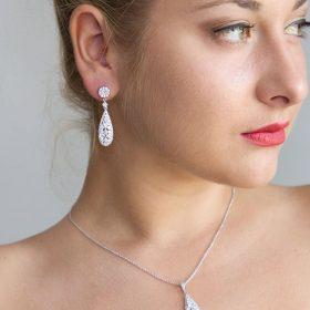 Parure bijoux mariage Ornella