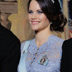 Diadème princesse Sofia, réplique couronne royale diamantée