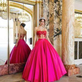 Collier princesse pour mariage luxe diamanté