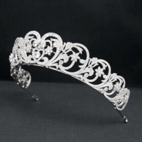 Diadème princesse Diana, couronne mariage royale diamantée